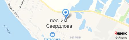 Веселый пивовар на карте Имени Свердловой