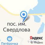 Галактика на карте Санкт-Петербурга