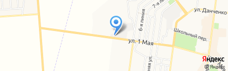 Торгово-сервисный центр на карте Ильичёвска
