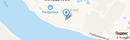 Свердловский центр образования на карте Имени Свердловой