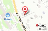 Схема проезда до компании Аргон СПб в Старой