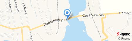 Паромщик на карте Таирово