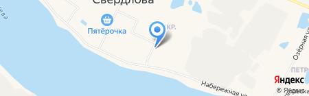 Секонд-хенд на ул. 1-й микрорайон на карте Имени Свердловой