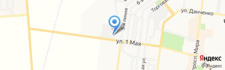 Ильичёвское городское Управление ГУ ГСЧС Украины в Одесской области на карте Ильичёвска