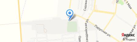 Шиномонтажная мастерская на карте Ильичёвска