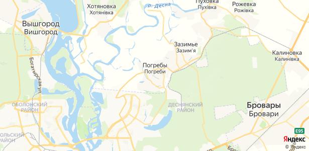 Погреби на карте
