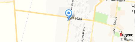 Альфа вет на карте Ильичёвска