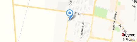 Киоск по продаже цветов на карте Ильичёвска