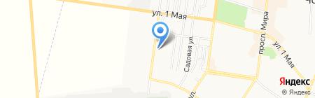 Айвенго на карте Ильичёвска