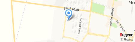 Благо на карте Ильичёвска