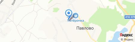 Павловский на карте Старой