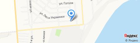Лукоморье на карте Ильичёвска
