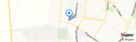 Кирюша на карте Ильичёвска