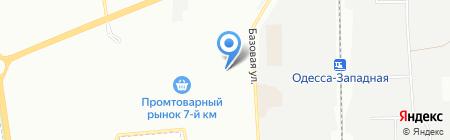 ЭлектроМаркет на карте Одессы