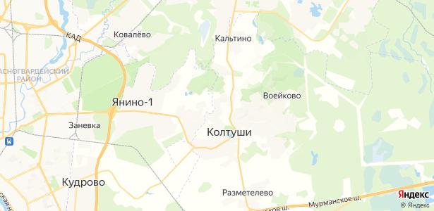 Токкари на карте
