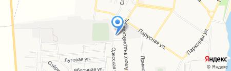 Фиеста на карте Ильичёвска