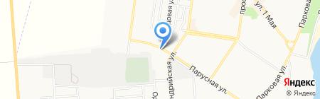 Грузинский дворик на карте Ильичёвска
