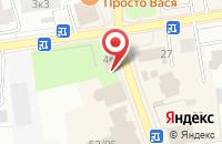 Схема проезда до компании Невская Заря во Всеволожске