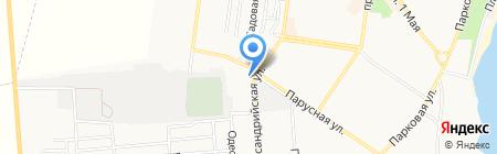 Курортный на карте Ильичёвска
