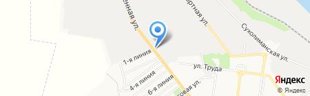 ДОМиНИКА на карте Ильичёвска