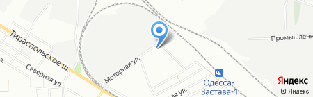 Биолайф на карте Одессы