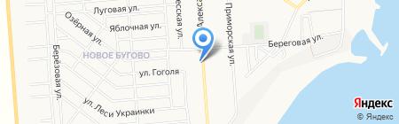Укоопспілка на карте Ильичёвска