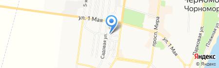 Monti Bon на карте Ильичёвска