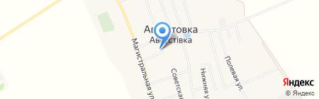 Участковый пункт милиции Беляевского районного отдела ГУМВД Украины в Одесской области на карте Августовки