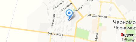 Лидер на карте Ильичёвска