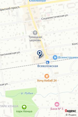 ФОТОЦЕНТР ФУДЖИ-ФОТОГРАФИЯ на карте Всеволожска