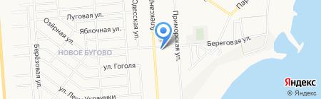 СТО на Александрийской на карте Ильичёвска