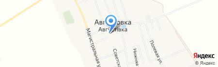 Общеобразовательная школа I-III ступеней на карте Августовки