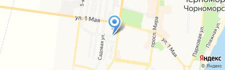 Алюмсервис на карте Ильичёвска
