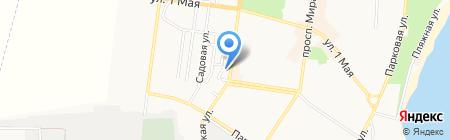Аварийная служба ЖЭУ на карте Ильичёвска