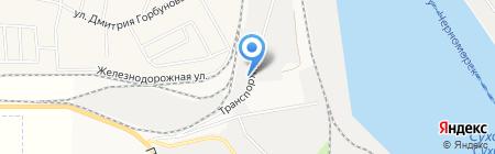 Бастион на карте Ильичёвска