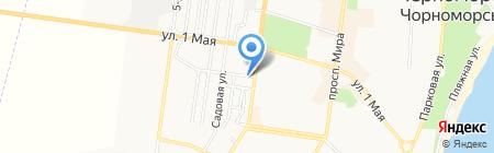 Киоск по ремонту обуви на карте Ильичёвска