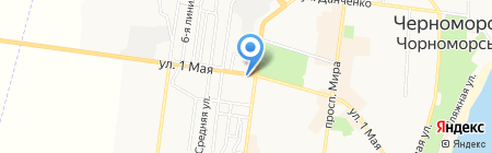 Сім п`ятниць на карте Ильичёвска