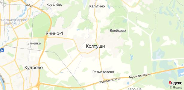 Павлово на карте