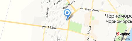 Wash & Drive на карте Ильичёвска
