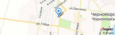Экопаркинг на карте Ильичёвска