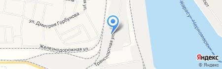 Главное управление госсанэпидслужбы на водном транспорте на карте Ильичёвска