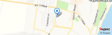 Союз на карте Ильичёвска