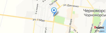 Банкомат АБ Південний на карте Ильичёвска