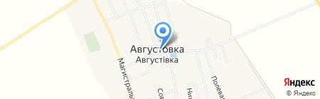 Продовольственный магазин на карте Августовки