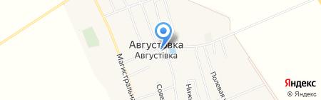 Парикмахерская на карте Августовки