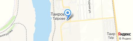 Нива на карте Таирово