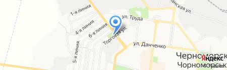 2000 на карте Ильичёвска