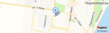 Каприз на карте Ильичёвска