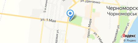 Горпресса на карте Ильичёвска