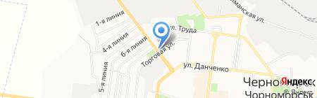 Магазин автозапчастей для отечественных автомобилей на карте Ильичёвска